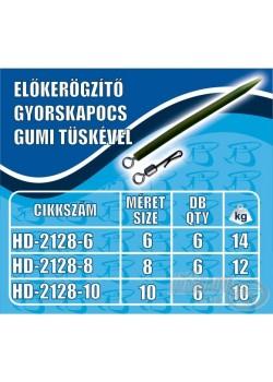 Haldorádó Rýchloobratlík s gumičkou - stredný (M)