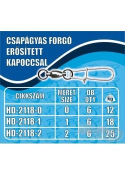 Haldorádó Ložiskový obratlík silnou karabinkou - veľký (L)