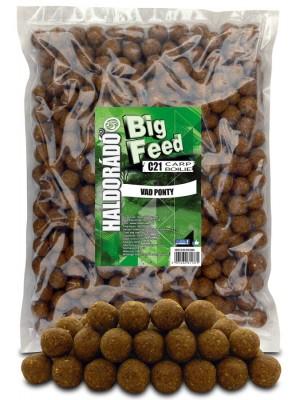Haldorádó Big Feed - C21 Boilie 2500 g - Divoký Kapor
