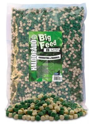 Haldorádó Big Feed - C6 Pellet 2500 g - Cesnak a Mandle