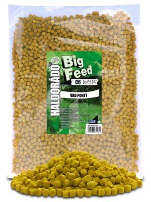 Haldorádó Big Feed - C6 Pellet 2500 g - Divoký Kapor