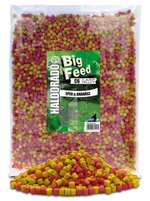 Haldorádó Big Feed - C6 Pellet 2500 g - Jahoda a Ananás