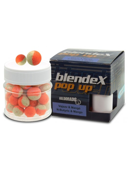 Haldorádó BlendeX Pop Up Big Carps 12, 14 mm - N-Butyric Acid a Mango
