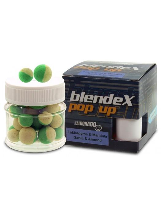 Haldorádó BlendeX Pop Up Big Carps 12, 14 mm - Cesnak a Mandle