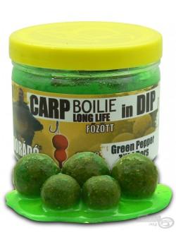 Haldorádó Carp Boilie in Dip - Green Pepper (Zelené korenie)