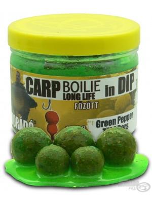 Haldorádó Carp Boilie in Dip - ZÖLD BORS (Zelené korenie)