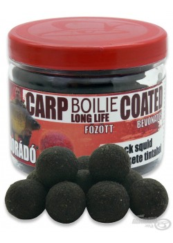 Haldorádó Carp Boilie Long Life Coated Black Squid (Čierny Kalmár)