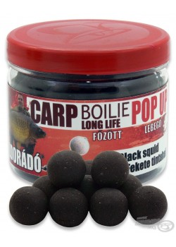 Haldorádó Carp Boilie Long Life Pop Up Black Squid (Čierny Kalmár)