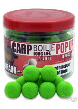 Haldorádó Carp Boilie Long Life Pop Up Green Pepper (Zelené Korenie)