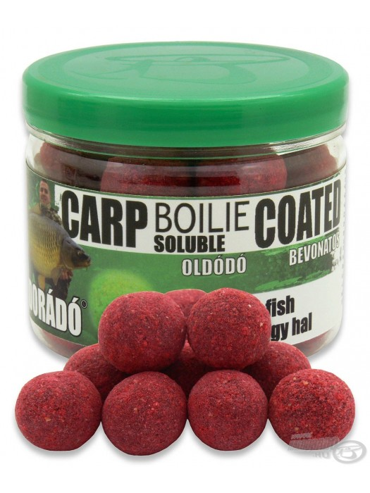 Haldorádó Carp Boilie Soluble Coated Big Fish (Veľká Ryba)
