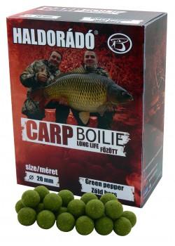 Haldorádó Carp Boilie Long Life Green Pepper (Zelené Korenie)