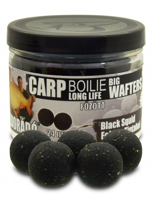 Haldorádó Carp Boilie Big Wafters - Black Squid (Čierny Kalmár)