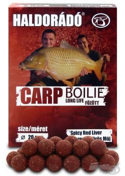 Haldorádó Carp Boilie Long Life  - Spicy Red Liver (Korenistá Červená Pečeň)