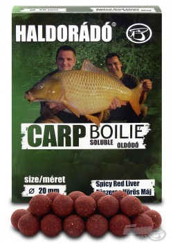 Haldorádó Carp Boilie Soluble -  Spicy Red Liver (Korenistá Červená Pečeň)