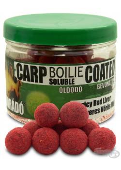 Haldorádó Carp Boilie Soluble Coated - Fűszeres Vörös Máj / Spicy Red Liver (Korenistá Červená Pečeň)