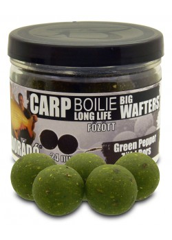 Haldorádó Carp Boilie Big Wafters - Green Pepper (Zelené Korenie )