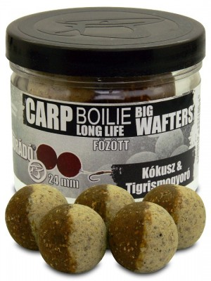 Haldorádó Carp Boilie Big Wafters 24 mm - Kokos + Tigrí Orech