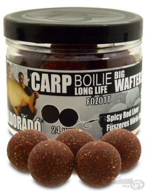 Haldorádó Carp Boilie Big Wafters -  Spicy Red Liver (Korenistá Červená Pečeň)