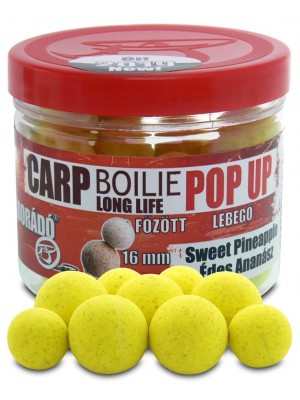 Haldorádó Carp Boilie Long Life Pop Up 16, 20 mm - Sladký Ananás