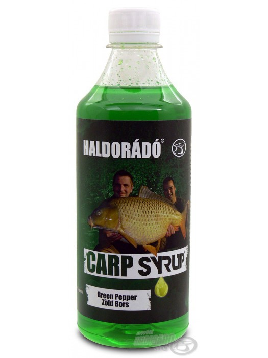 Haldorádó Carp Syrup - Zöld Bors / Green Pepper (Zelené Korenie)