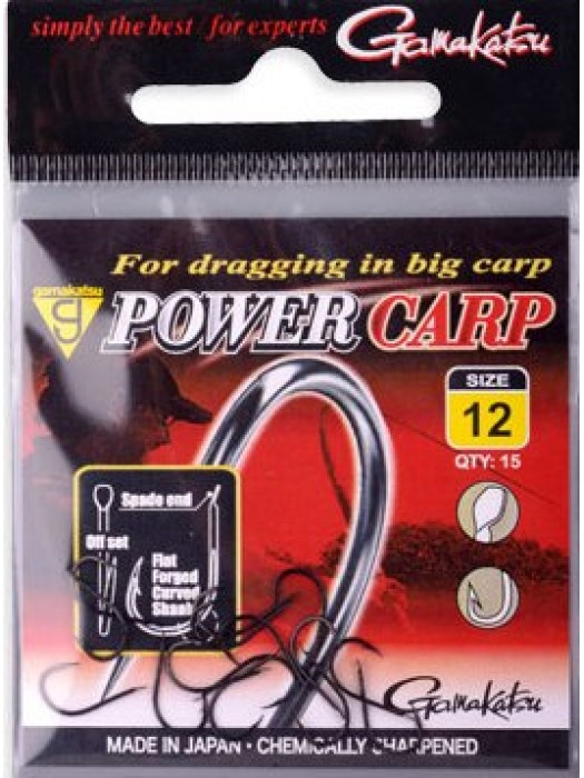 Gamakatsu Power Carp 12
