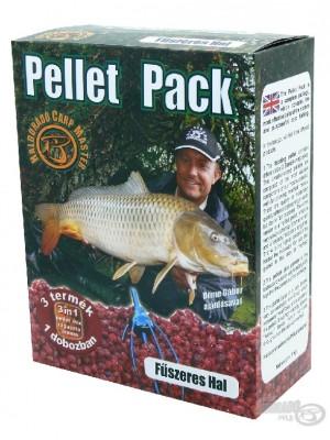 Haldorádó Pellet Pack Fűszeres Hal (Korenistá Ryba)