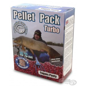 Haldorádó Pellet Pack Turbo Fagyos Ponty (Mrazivý Kapor)