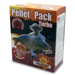 Haldorádó Pellet Pack Turbo Tüzes Ponty (Ohnivý Kapor)