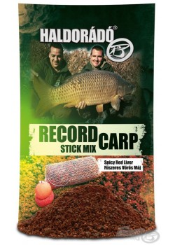 Haldorádó Record Carp Stick Mix - Korenistá Červená Pečeň / Spicy Red Liver