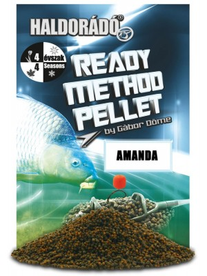 Haldorádó Ready Method Pellet - Amanda