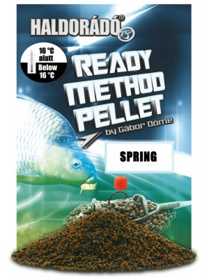Haldorádó Ready Method Pellet - Spring