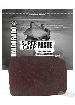Haldorádó Super Carp Paste - Spicy Red Liver (Korenistá Červená Pečeň)