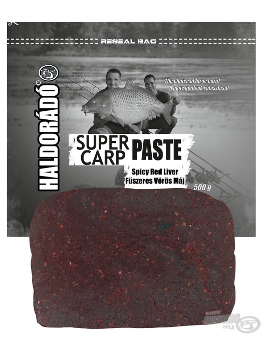 Haldorádó Super Carp Paste - Spicy Red Liver (Korenistá Červená Pečeň)