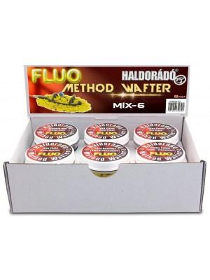 Haldorádó Fluo Method Wafter 8 mm - MIX-6 / 6 príchutí v jednej krabici