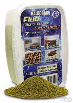 Haldorádó Fluo Micro Method Feed Pellet - Mega Citron