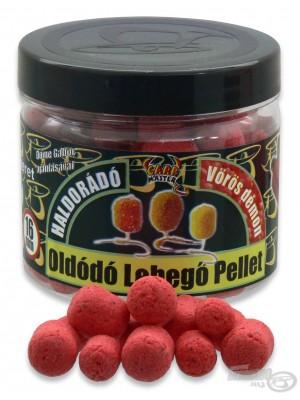 Haldorádó Rozpustné Plávajúce Pelety - Červený Diabol - jahoda