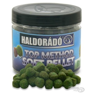 Haldorádó TOP Method Soft Pellet Green Pepper (Zelené Korenie)