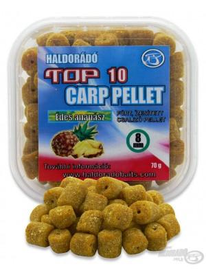Haldorádó TOP 10 Carp Pellet Édes Ananász (Sladký Ananás)