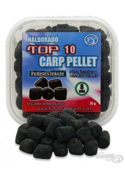 Haldorádó TOP 10 Carp Pellet Pelletes Fekete (Čierne Pelety)