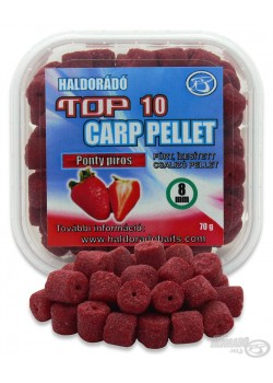 Haldorádó TOP 10 Carp Pellet Ponty Piros (Jahoda)