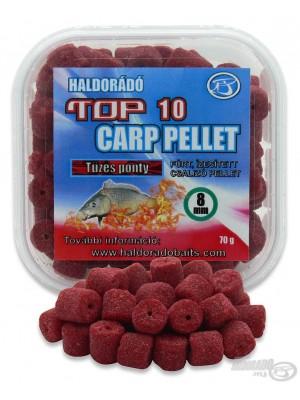 Haldorádó TOP 10 Carp Pellet Tüzes Ponty (Ohnivý Kapor)