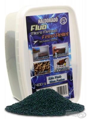 Haldorádó Fluo Micro Method Feed Pellet - Modrá Fúzia / Blue Fusion