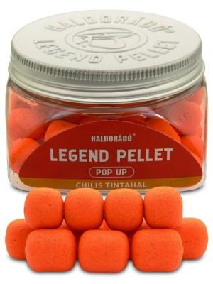 Haldorádó Legend Pellet Pop Up 12, 16 mm - Chili a Kalamar / Chili - Squid