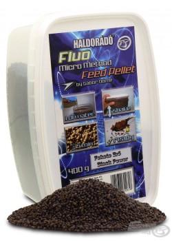 Haldorádó Fluo Micro Method Feed Pellet - Fekete Erő / Black Power (Čierna Sila)