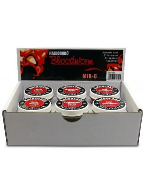 Haldorádó Bloodworm Mix 6 / 6 príchutí v jednej krabici