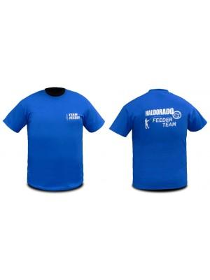 Haldorádó Feeder Team tričko s krátkym rukávom bez goliera XXL