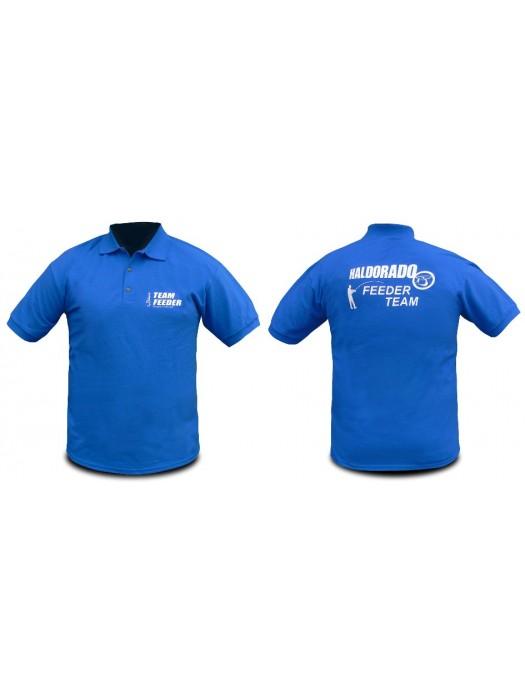 Haldorádó Feeder Team tričko s krátkym rukávom a golierom S
