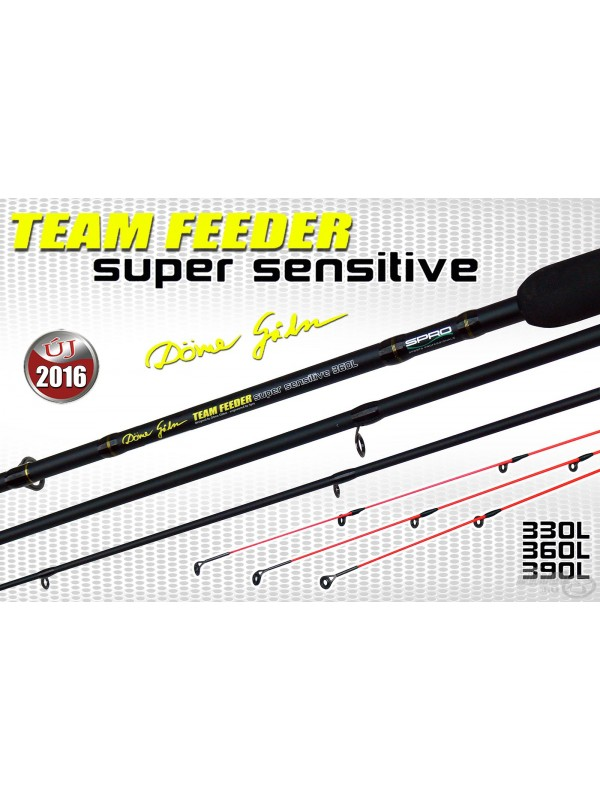 Spro Team Feeder Super Sensitive 390L 30-80G - by Döme Gábor