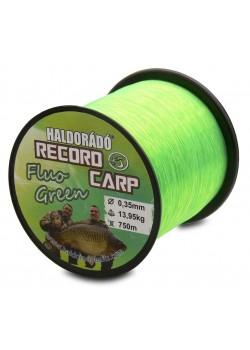 Haldorádó Record Carp Fluo Green 0,30 mm  800 m - 10,85 kg