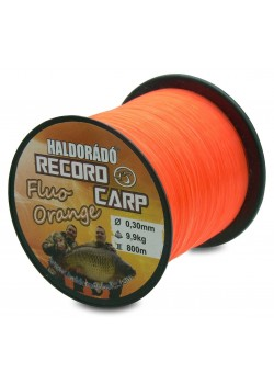 Haldorádó Record Carp Fluo Orange 0,35 mm / 750 m - 12,75 kg